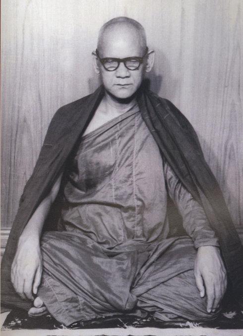 緬甸高僧──馬哈希大師及弟子們的昔日照片